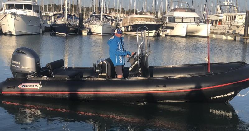 Xavier Gauthier Guide pêche en mer