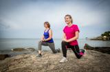 Annie réveil musculaire coach sportif marche nordique