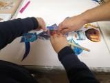 Atelier collage artistique
