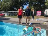 Cours de natation avec Philippe et Yoann
