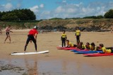 surf, vogue et vague ,atlantic surf academy, initiation surf, gohaud, plage de goahud