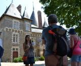 Cours du château visite guidée Pornic