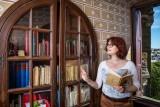 Florence dans la bibliothèque