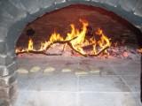 Fouées cuites au feu de bois