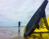 Initiation découverte kitesurf plage