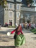 Jeu de piste familial au Château de Pornic - Mélusine lors des Journée du patrimoine