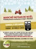 MARCHE DE NOEL PAYSAN PORNIC PRODUITS FERMIERS  PRODUITS ARTISANAUX BOISSONS