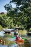 escapade nature, balade canoë, vogue and vague, initiation kayak, port saint père, proche pornic, proche nantes, canoe kayak, promenade insolite en canoe, crpuscule, à l'aube, apréo, petit dej, guide nature