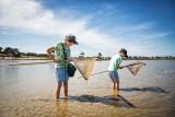 pornic pêche à pied coquillage marée basse horaire séjour mobil home famille