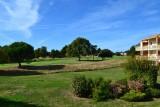 Vue sur le golf, depuis le balcon - RES44