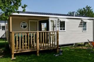 Extérieur cottage 4-5 personnes 2 chambres la Chênaie
