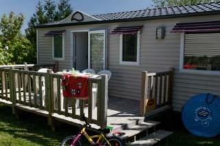 Extérieur cottage 6 personnes 3 chambres La Chênaie