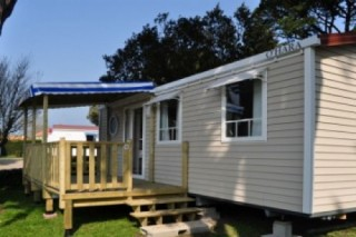 Mobil home cottage 6 personnes - Camping Eléovic