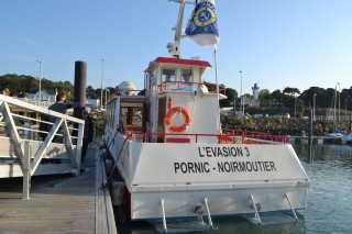 Traversée Pornic-Noirmoutier à bord de l'EVASION III
