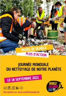 WORLD CLEAN UP DAY 2021