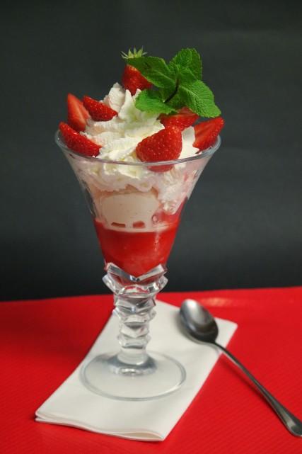 Coupe Amour de fraises