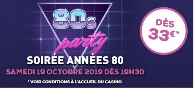 80 'S PARTY  CASINO PORNIC