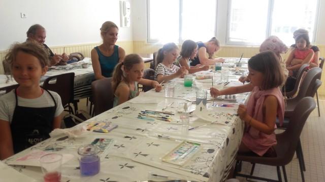 Atelier découverte de l'aquarelle pour enfants