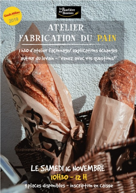 ATELIER FABRICATION DU PAIN PORNIC