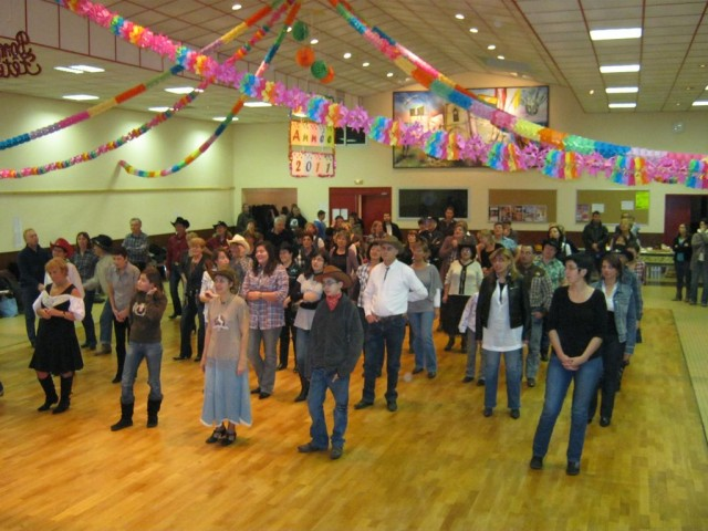 Bal country organisé par l'association Retz Jade Country