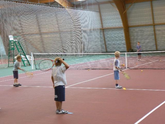 Cours de tennis enfants