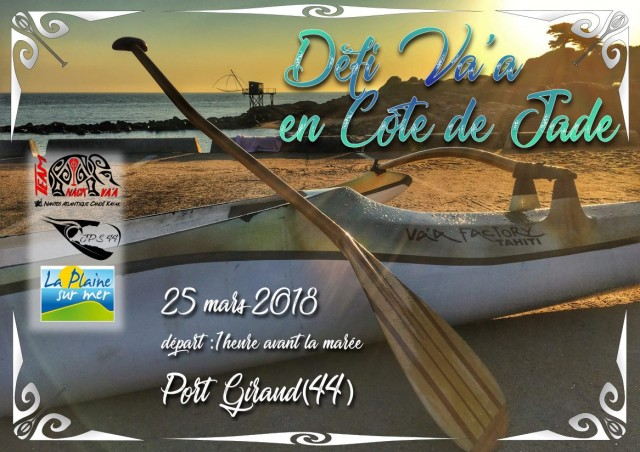 Défi Va'a en Côte de Jade - 25/03/2018