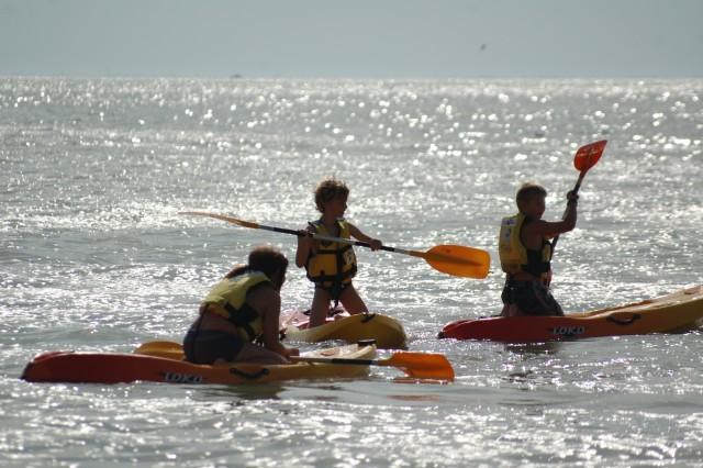Séance de Kayak à la Bernerie