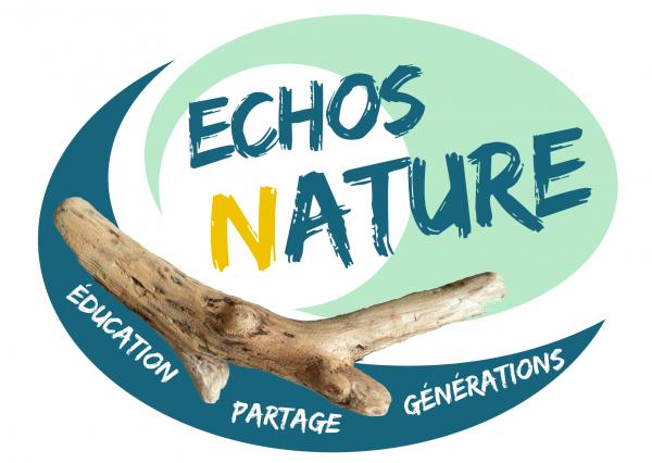 ECHOS NATURE - LOGO - DESTINATION PORNIC