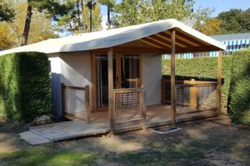 Eco-Lodge 4 personnes camping Eléovic