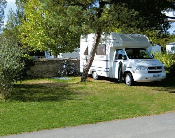 Emplacement, camping la Boutinardière