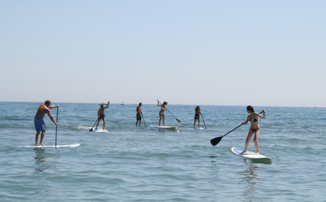 Essayez le STAND UP PADDLE !