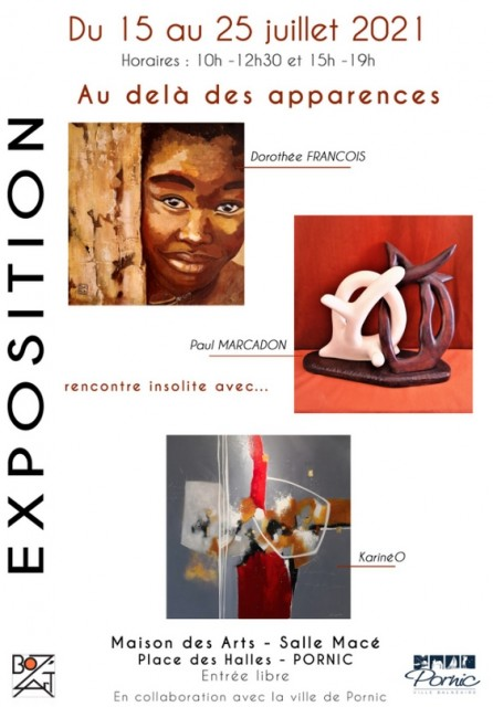 EXPOSITION: AU DELA DES APPARENCES