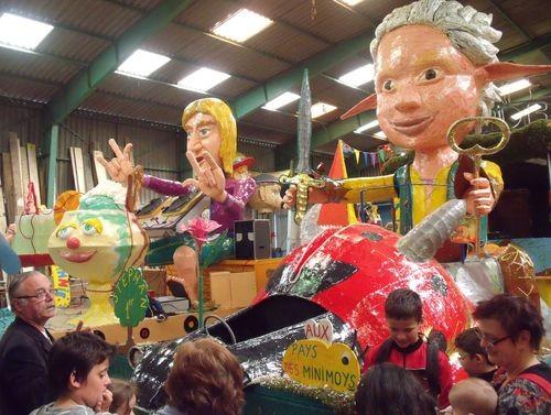 Visite du local des carnavaliers