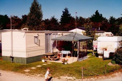 Mobil home, camping les Bleuets