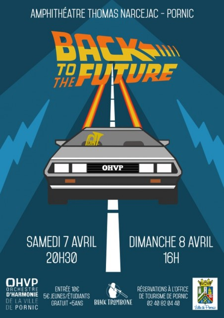 OHVP CONCERT BACK TO THE FUTURE - DESTINATION PORNIC
