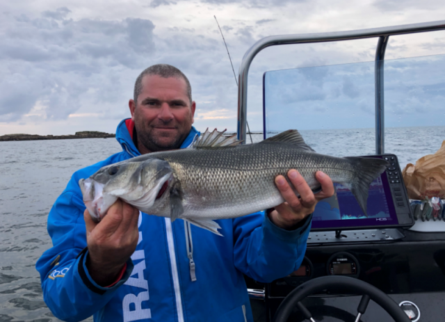 Pêche en mer avec Xavier Gauthier