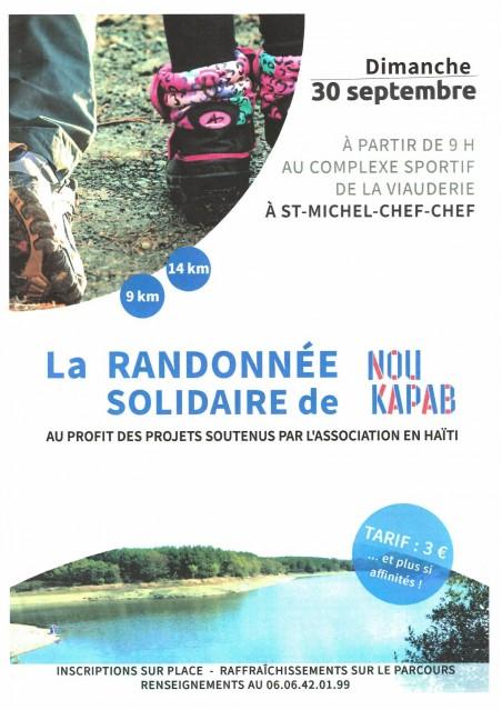 RANDONNEE SOLIDAIRE DE NOU KAPAB
