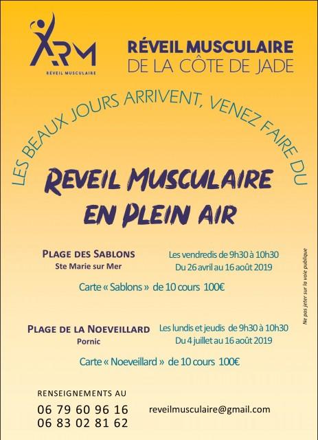 SEANCES DE REVEIL MUSCULAIRE EN PLEIN AIR