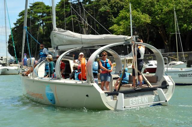 Sortie en mer à bord de voiliers - VOILE EN EQUIPAGE