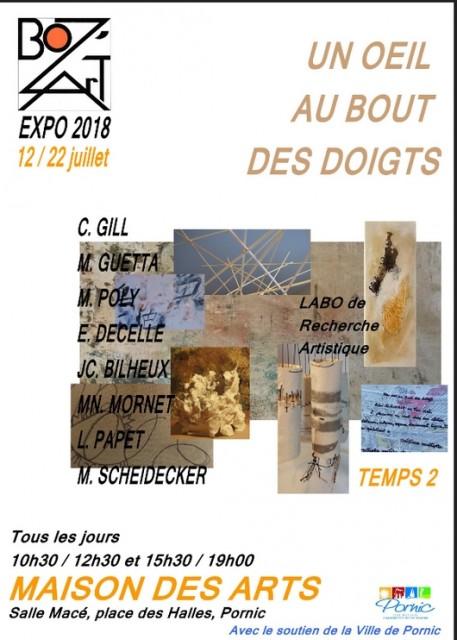 UN OEIL AU BOUT DES DOIGTS/TEMPS 2 PORNIC