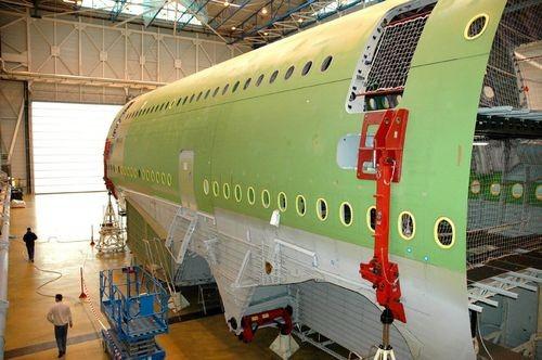 Les ateliers d'Airbus