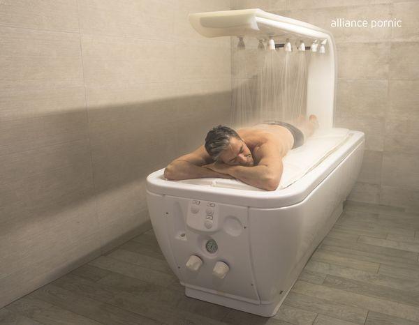 pornic thalasso soin cure journée massage kiné eau mer bains