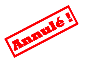 Annulation vide-greniers 23 juin 2018