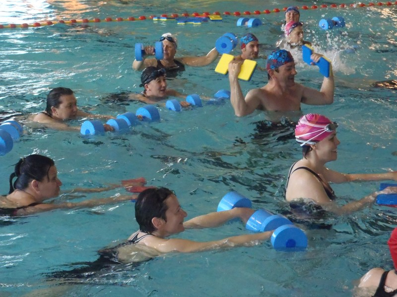 AQUAGYM A L'AQUACENTRE