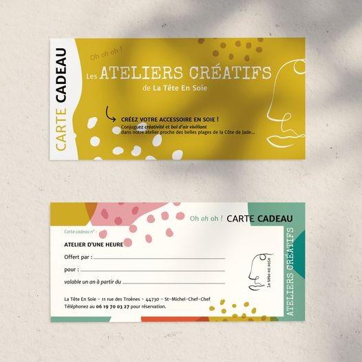 Carte cadeau ateliers créatifs