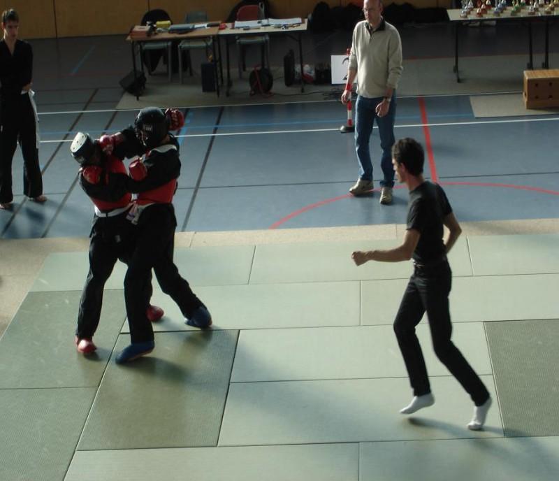 Compétition adulte technique et combat de Viet Vo Dao - 08/04/2018