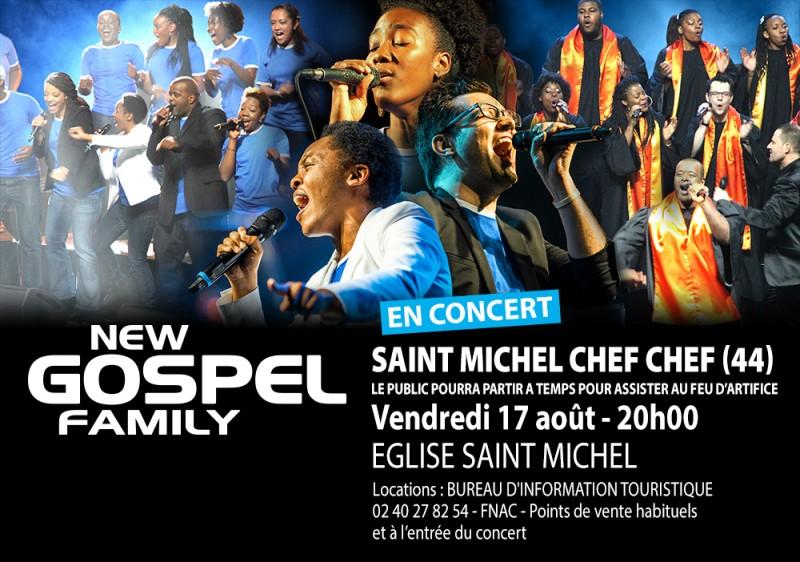 Concert New Gospel Family Animations Eglise St Michel Tharon