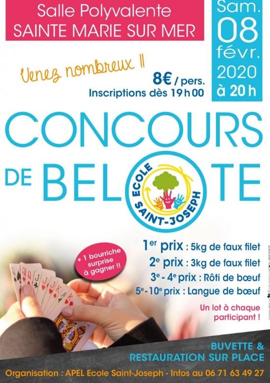 CONCOURS DE BELOTE PORNIC