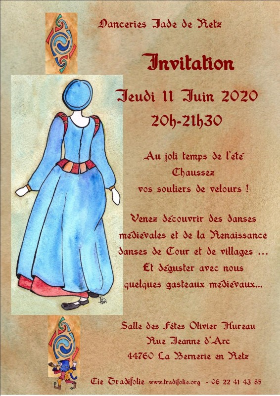 Danceries Jade de Retzinvitation