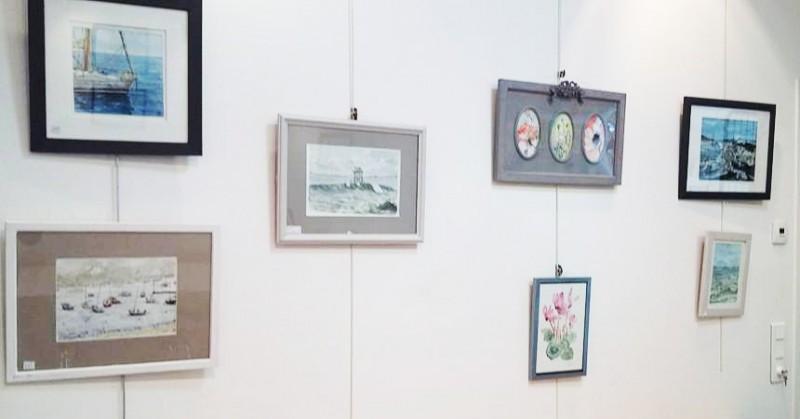 Exposition d'aquarelle - Préfailles